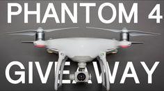 DJI PHANTOM 4 DRONE GIVEAWAY - OPEN