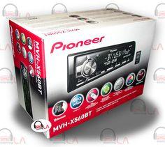 Sourcing-LA: Pioneer MVH-X560BT Digital Media Receiver Built in...