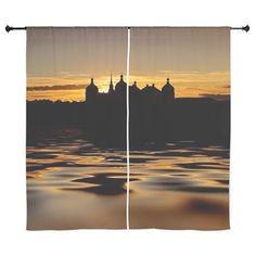 Fairytale Castle Sundown Curtains