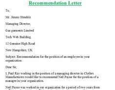 Sample Reference Letter For A Friend For Immigration | Letter ...