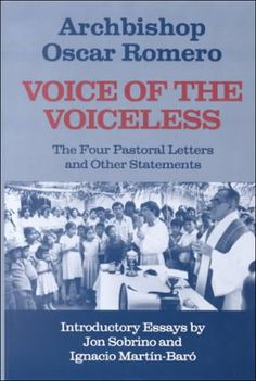 Bestseller Books Online Voice of the Voiceless: The Four Pastoral Letters and Other Statements Oscar Romero $16.39  - http://www.ebooknetworking.net/books_detail-0883445255.html