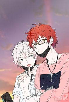 Find images and videos about anime boys, mystic messenger and MM on We Heart It - the app to get lost in what you love. Seven Mystic Messenger, Mystic Messenger Fanart, Mystic Messenger Characters, Saeran Choi, Saeyoung Choi, Anime W, Anime Boys, Wattpad, Diabolik Lovers