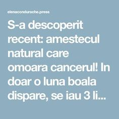 S-a descoperit recent: amestecul natural care omoara cancerul! In doar o luna boala dispare, se iau 3 lingurite pe zi Lunges, Remedies, Health Fitness, Lung Cancer, Plants, Pandora, Homemade, Medicine, Therapy