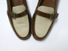 Etienne Aigner . leather buckle loafers . size 10M . by june22