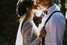 Gorgeous outdoorsy couple portrait   Image by KPSS Photography