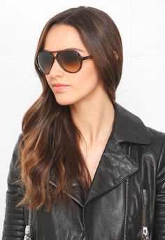Ray-Ban Cats 5000 59mm Sunglasses in Faded Brown 710/51