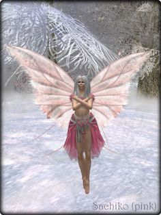 Faeline Fairy Wings - Sachiko (pink)