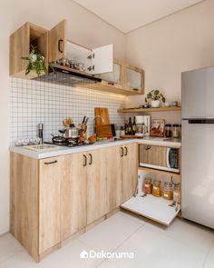 Popular dream home interior small houses Ideas Design Scandinavian, Scandinavian Kitchen, Kitchen Interior, Kitchen Design, Kitchen Decor, Home Room Design, Home Interior Design, Modern Small House Design, Small Modern Home