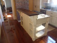 Island done by Sanford Woodworks!
