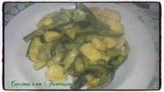 Gnocchi con impasto di polpa di zucchina