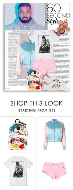 """""""Drake 60 second style"""" by thestrawberryfields ❤ liked on Polyvore featuring Marc Jacobs, Alexander McQueen, Target, Carmar, adidas Originals, DRAKE, views and 60secondstyle"""