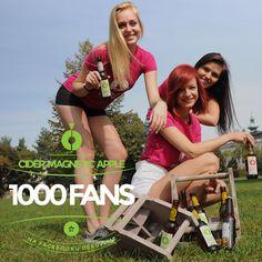 CIDER MAGNETIC APPLE slaví 1000 likes na facebooku