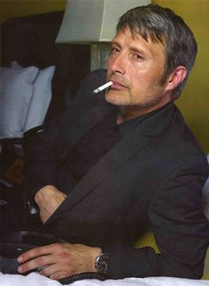 Mads Mikkelsen photoshoot 2015. Source: sympathyforthecannibal.tumblr
