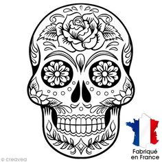 Home Decorating Style 2020 for Coloriage Halloween Mexicain, you can see Coloriage Halloween Mexicain and more pictures for Home Interior Designing 2020 19608 at SuperColoriage. Skull Coloring Pages, Adult Coloring Book Pages, Colouring, Blackwork, Caveira Mexicana Tattoo, Swag Pictures, Tattoo Filler, Candy Skulls, Plant Drawing