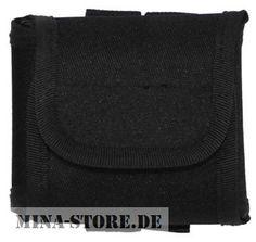 """mina-store.de - Tasche """"Molle"""" mit Beutel schwarz"""