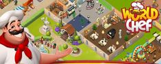 Astuce Triche World Chef – Or & Gemmes Gratuits Illimités #Game #Jeux #Mobile #Android #iPhone #Triche #Astuce Mobile Android, World Chef, Comme, Ios, Restaurant, Iphone, Desserts, Budget, Fast Foods