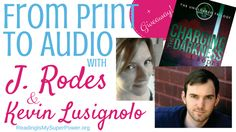 """Hi friends! I'm so excited about today's guest post! Author J. Rodes (aka Jen Rodewald) is here to talk about what it's like to take her YA Dystopian """"The Uncloaked"""" trilogy from print to audiobook. And as a bonus, she is chatting with the series' audiobook narrator, Kevin Lusignolo. J....  Read more »"""