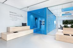 why the friday were engaged by Pickware, a technology company located in Darmstadt, Germany. The successful start-up Pickware moved within their so far Partition Design, Glass Partition, Office Interior Design, Office Interiors, Tiered Seating, Hospital Design, Workplace Design, Chula, Wall Bar