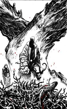 Hellboy (Art by Sebastian Fiumara)