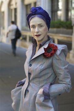 Senior style: Glamorous older women - The Look