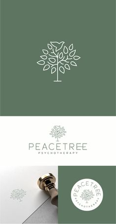 Logo for psychotherapy private practice Custom Logo Design, Custom Logos, Roots Logo, Dynamic Logo, Roots And Wings, Wings Logo, Coffee Logo, Tree Logos, Clinic Design