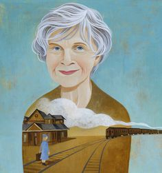 'Dear Life,' Stories by Alice Munro - The New York Times (Illustration of Alice Munro by Jody Hewgill) Alice Munro, Free Short Stories, Newspaper Layout, Mix Photo, Writers And Poets, Life Is Strange, Cool Wallpaper, Ny Times, Creative Inspiration