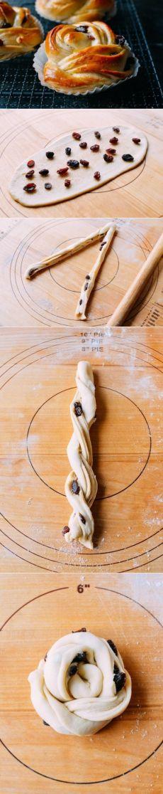 Как приготовить булочки с изюмом.  - рецепт, ингридиенты и фотографии