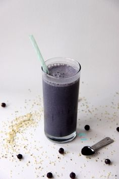 Blue Very Berry Protein Smoothie