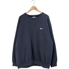 Designer Clothes, Shoes & Bags for Women Cute Fall Outfits, Winter Fashion Outfits, Oversized Jumper, Oversized Tops, Nike Sweatshirts, Sweatshirts Vintage, Nike Pullover, Sweater Hoodie, Black Nikes