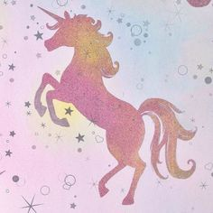Be dazzled dancing unicorn wallpaper rainbow - coloroll glitter new Pink Unicorn Wallpaper, Rainbow Wallpaper, Glitter Wallpaper, Girl Wallpaper, Wallpaper Backgrounds, Homescreen Wallpaper, Unicorn And Glitter, Unicorn Art, Magical Unicorn