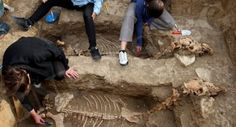 2500-Year-Old Horse Remains in Bulgaria Suggest Creatures Were Buried Upright -  Archaeologists have uncovered the remains of a Thracian car...