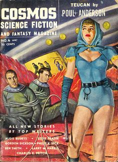 Cosmos Science Fiction and Fantasy Magazine (July 1954) AUTHOR: L. B. Cole (ed) ARTIST: B. Safran | Flickr - Photo Sharing!