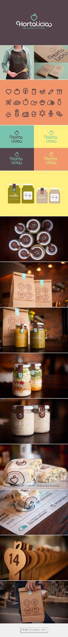 Hortalícia on Behance curated by Packaging Diva PD. giving life to branding packaging that combines healthy food to practicality, without giving up the flavor and home's warmth.