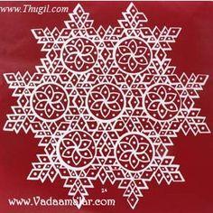 Traditional Indian Home decoration for festivals like Diwali, Vijayadashami and Pongal Rangoli Kolam Designs, Kolam Rangoli, Pooja Rooms, South India, Stickers, Traditional Design, Diwali, Special Occasion, Festivals