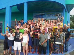Virgin Atlantic travel agents here for Gimme5 2014 went down under in Barbados aboard Atlantis Submarines