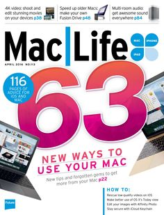 #iPad User Magazine #82. 63 new ways to use your  #Mac! 116 pages of #advice for #iOS and Mac.