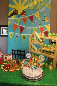 Kidspired Creations: Angry Birds Birthday Party