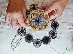 Nhanduti lace from Brazil