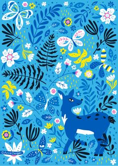 Forest Fusion Collection by Anna Deegan, via Behance