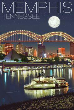 """'Walking in Memphis.....I was walking with my feet ten feet off of Beale"""" :-)"""
