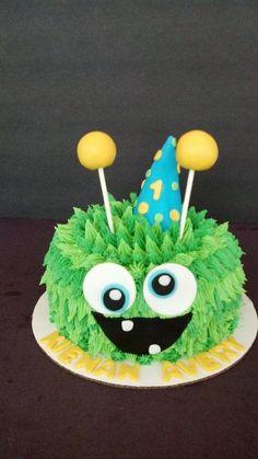 Monster Smash Cake  Www.facebook.com/cakesmadebychrissy