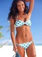 U Look Kinda Cute In That Polka Dot Bikini Girl