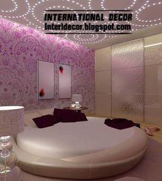 french moderne design/images | modern circular leather bed furniture design 2013 modern circular bed