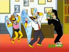 ₪ Harvey Birdman: Attorney At Law ₪, gif Harvey Birdman, Aqua Teen Hunger Force, Metalocalypse, Space Ghost, Attorney At Law, Hanna Barbera, Cartoon Characters, Fictional Characters, Geek Culture