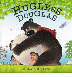 Douglas is a young bear looking for a hug. But each time he thinks he's found that very special feeling, it turns out to be a false alarm. The big rock he hugs is tooOOF! Heavy. The tall tree he hugs is tooOUCH! Splintery. And the cozy looking bush he hugs quivers and trembles and then runs away! Poor Hugless Douglas. Won't anyone give him a hug?
