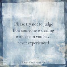 Please Don't Judge