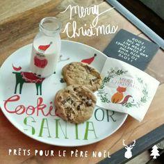 Noël  en attendant le père Noël Santa, Cookies, Chicken, Christmas, Santa Clause, Noel, Crack Crackers, Xmas, Weihnachten