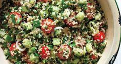 Quinoa Tabbouleh. http://www.bonappetit.com/recipe/quinoa-tabbouleh