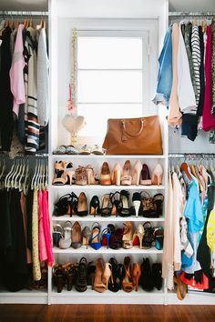 @Emily Schuman / Cupcakes and Cashmere's closet!