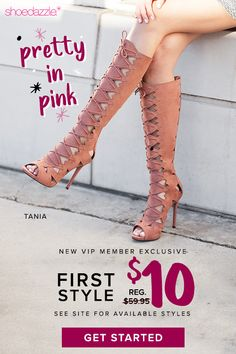 e644b8c955e Pretty In Pink - Get Your First Style for Only  10! Take the 60 Second